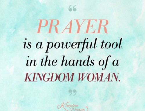 Praying with Kingdom Purpose